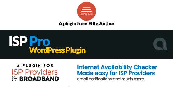 ISP Pro - Broadband and Internet Service Providers WP Plugin