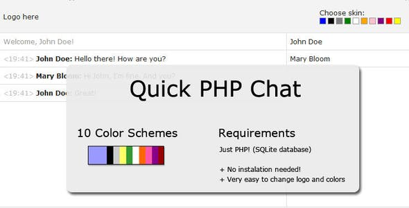 Quick PHP Chat