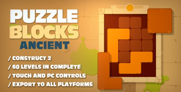 Puzzle Blocks Ancient - CodeCanyon Item for Sale