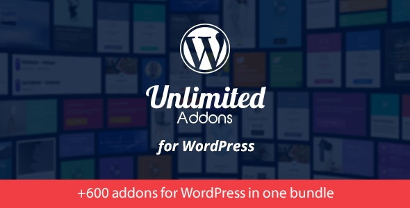 Unlimited Addons for WordPress - CodeCanyon Item for Sale