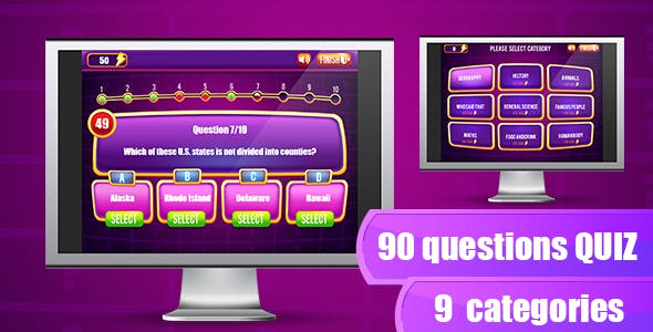 The Quiz Game - HTML5 & Capx