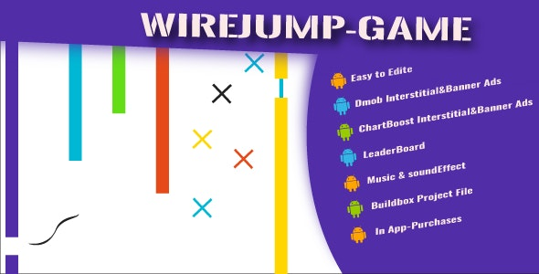 WireJump Game - CodeCanyon Item for Sale