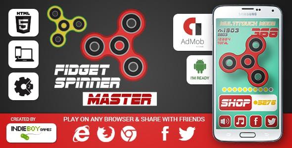 Fidget Spinner Master | HTML5 game