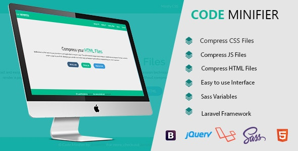 Code Minifier - Compress CSS JS & HTML Files - CodeCanyon Item for Sale