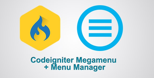 Codeigniter Megamenu and Menu Manager by kevikidy | CodeCanyon