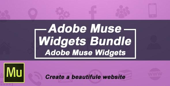 Adobe Muse Widgets Bundle - CodeCanyon Item for Sale