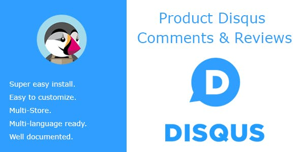Product Disqus Comments & Reviews