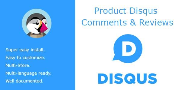 Product Disqus Comments & Reviews
