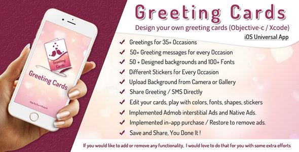 iGreeting Cards - All Wishes - Picture Editor / iOS (Obj-c / Xcode) - CodeCanyon Item for Sale