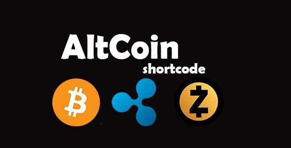 AltCoin ShortCode