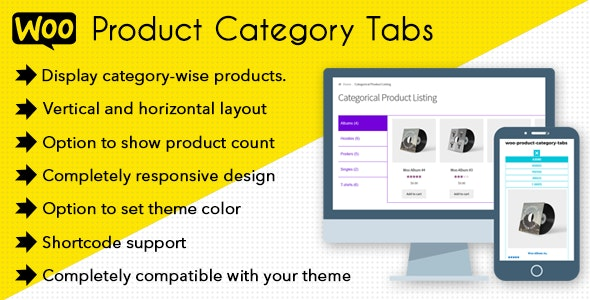 Woo Product Category Tabs - CloudBerriez - CodeCanyon Item for Sale