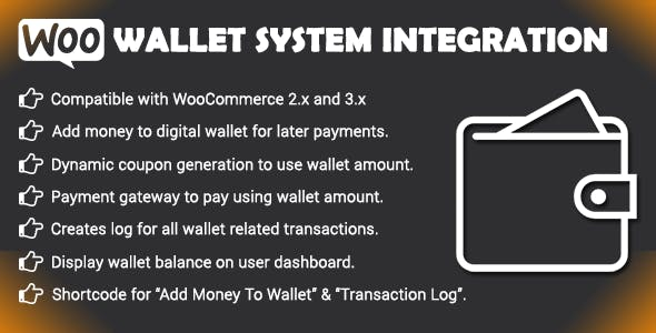 Woo Wallet System - CloudBerriez