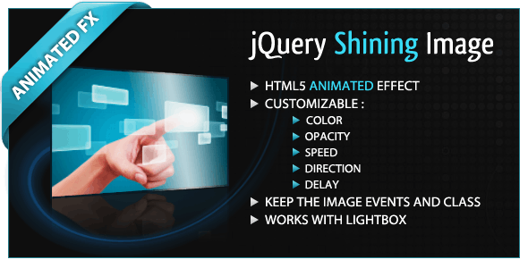 jQuery Shining Image - CodeCanyon Item for Sale