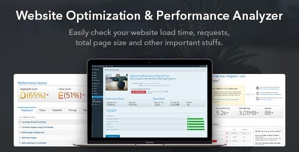 Website Optimization & Performance Analyzer WordPress Plugin - CodeCanyon Item for Sale