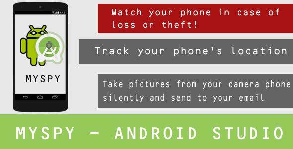 Make A Spy App With Mobile App Templates from CodeCanyon