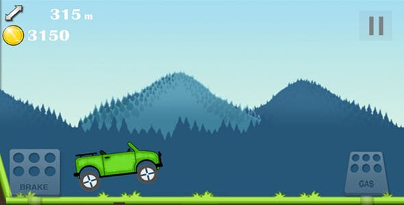 Hill Climb Racer (android - IOS) bbdoc file included