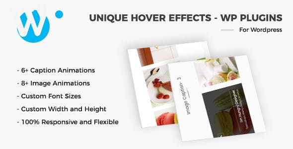 Unique Hover Effects - WordPress Plugin