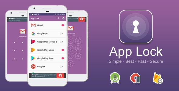 App Lock Best, Fast and Secure App Locker With Admob Ads + Google Analytics + Firebase Integration. - CodeCanyon Item for Sale