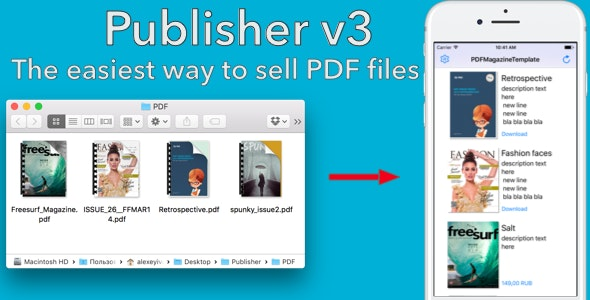 Publisher v3 - CodeCanyon Item for Sale