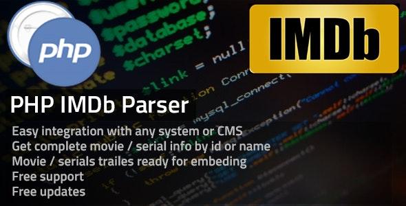 IMDB Parser - CodeCanyon Item for Sale