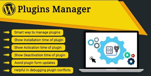WP Plugins Manager - CloudBerriez