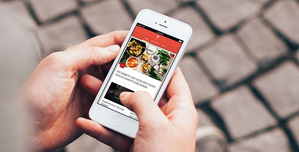 EXTRUDE Progressive Web App - CodeCanyon Item for Sale