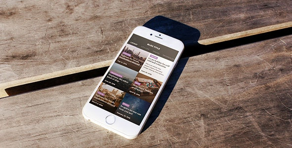 GHOST Progressive Web App - CodeCanyon Item for Sale