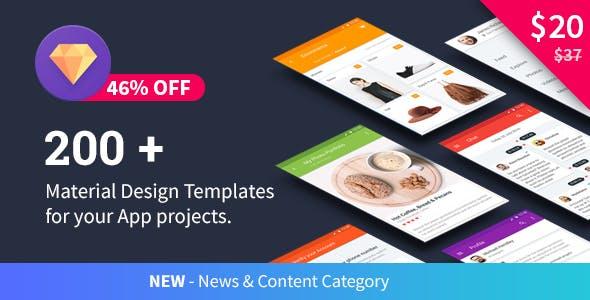 Material Design Templates