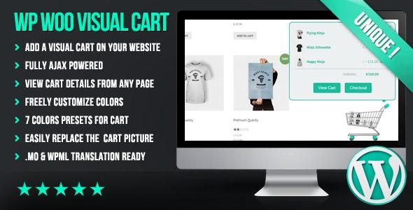 WP Woo Visual Cart - CodeCanyon Item for Sale