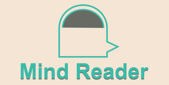 Mind Reader - Html5 Mobile Game - android & ios