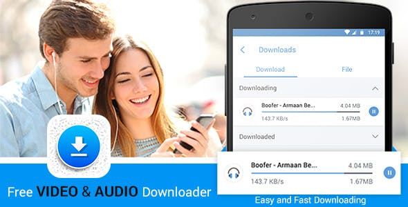 Video and Audio Downloader and Manager