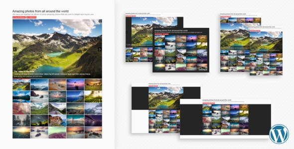 Sharp Gallery for WordPress