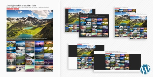 Sharp Gallery for WordPress - CodeCanyon Item for Sale