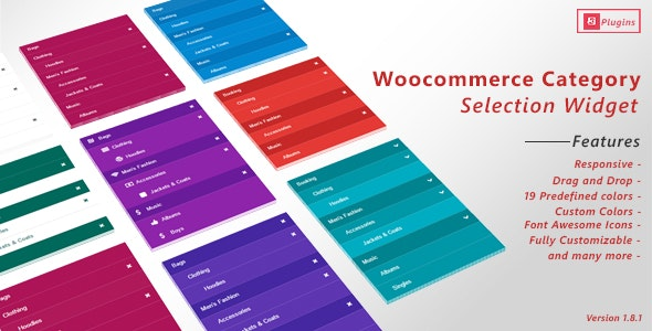 WooCommerce Category Selection Widget - CodeCanyon Item for Sale