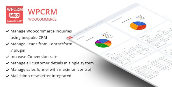 WPCRM - CRM for Contact form CF7 & WooCommerce