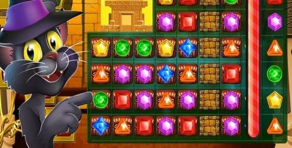 Treasure Match Pyramid Quest