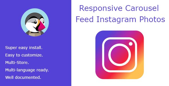 Responsive Carousel Feed Instagram Photos