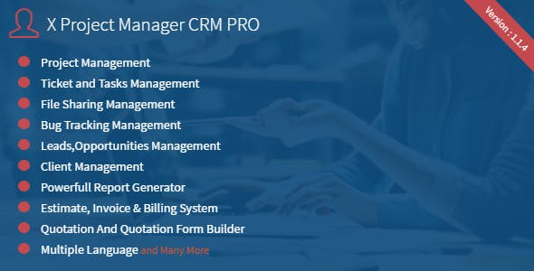 NexaCRM - Powerfull CRM Application