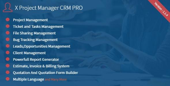 NexaCRM - Powerfull CRM Application - CodeCanyon Item for Sale