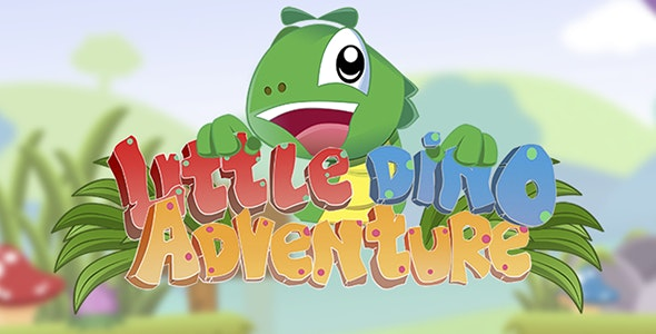 Little Dino Adventure - HTML5 Construct 2 Platform Game (.capx) - CodeCanyon Item for Sale