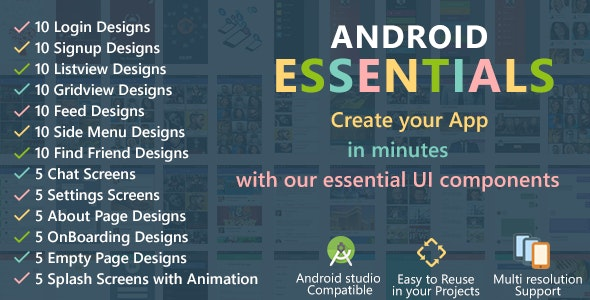 Android Starter Template - CodeCanyon Item for Sale