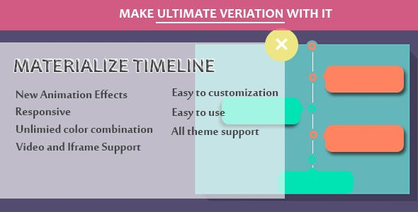 Visual Composer - Materialize Timeline