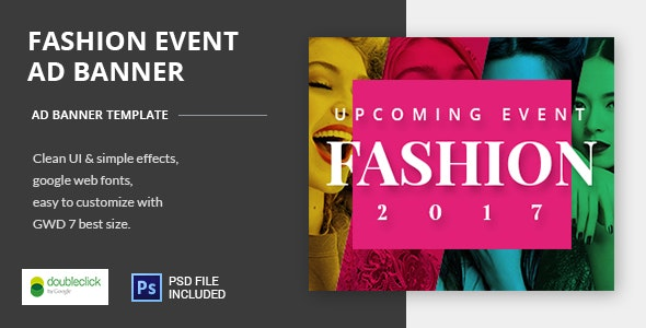 Fashion Event-HTML Animated Banner 04 - CodeCanyon Item for Sale