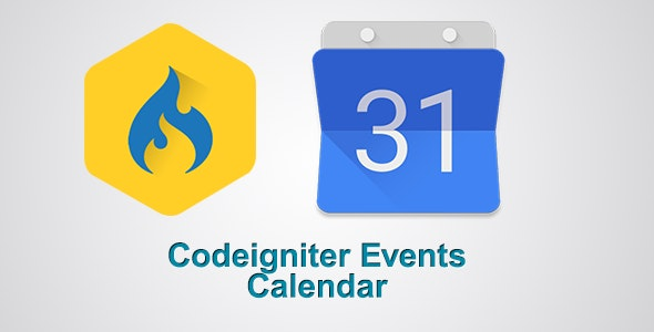 Codeigniter Resonsive Events Calendar - CodeCanyon Item for Sale