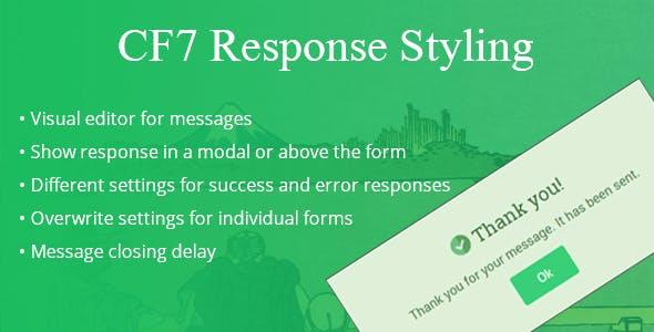 CF7 Response Styling