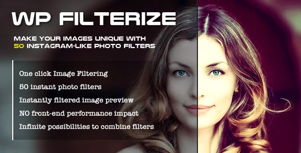 WP Filterize – Instant photo filters plugin for WordPress