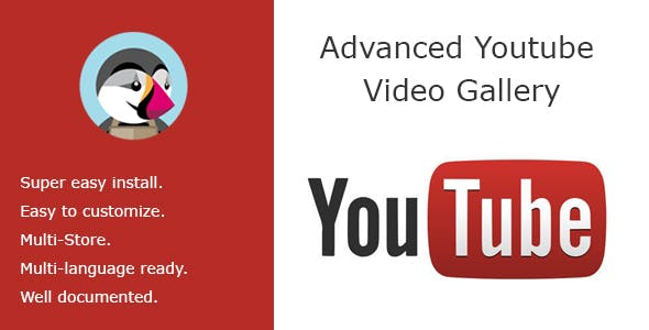 Advanced Youtube Video Slider & Gallerie