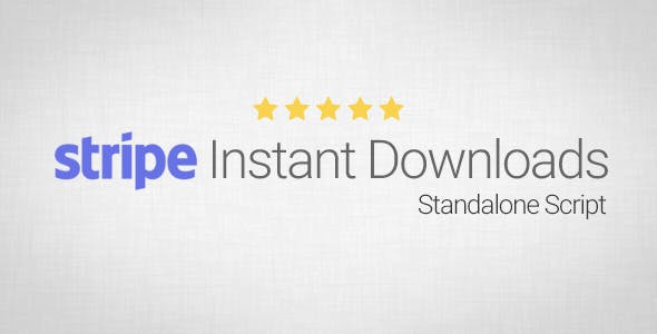 Stripe Instant Downloads - Standalone Script - CodeCanyon Item for Sale