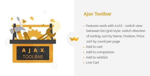 AJAX Toolbar - CodeCanyon Item for Sale