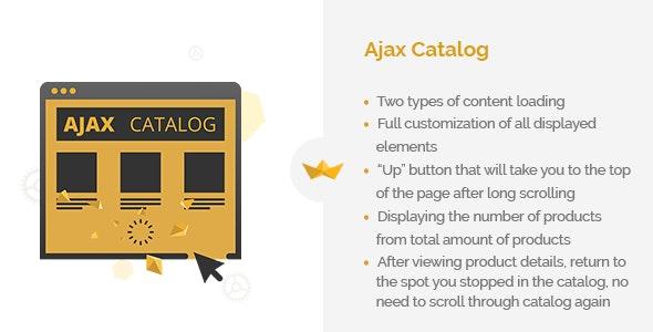AJAX Catalog - CodeCanyon Item for Sale